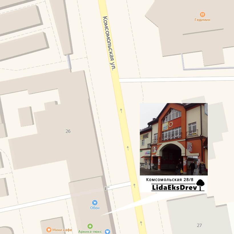 ЛидаЭксДрев Производство корпусной мебели в Лиде